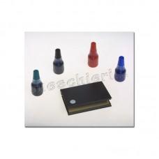 Cuscinetti e inchiostri per timbri manuali